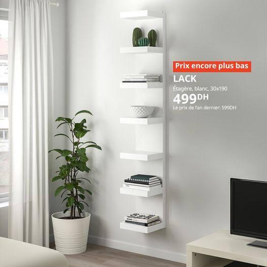 Promos Ikea Maroc Lack étagère