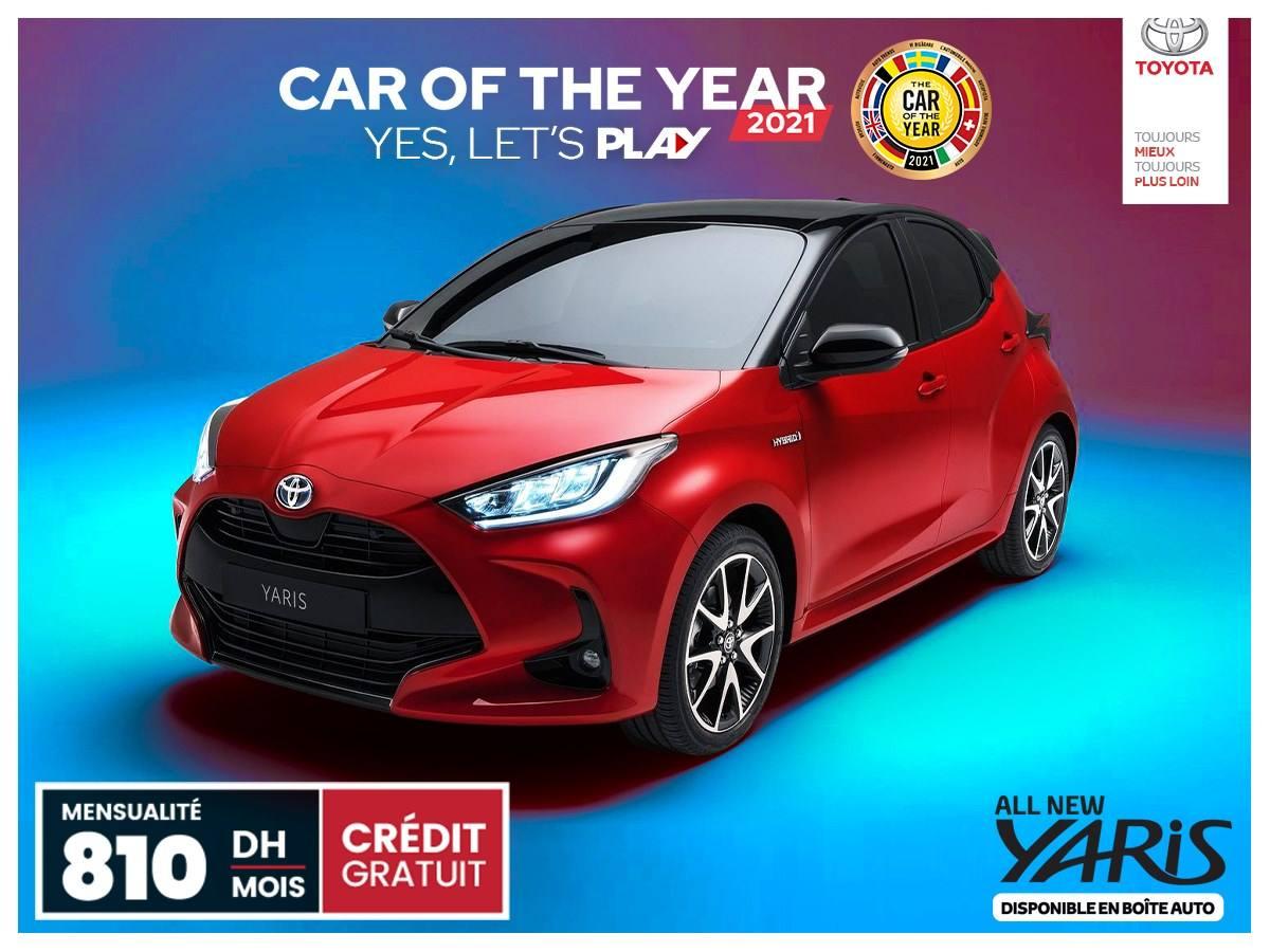 Offre Toyota Maroc Yaris  à Partir De 810 DHS/Mois