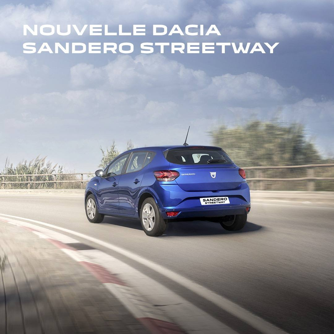 Nouvelle Dacia Maroc Sandero Streetway Prix Maroc
